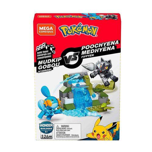 DYF09_Blocos_Mega_Construx_Pokemon_Batalha_Mudkip_Gobou_vs_Poochyena_Medhyena_126_Pecas_Mattel_2
