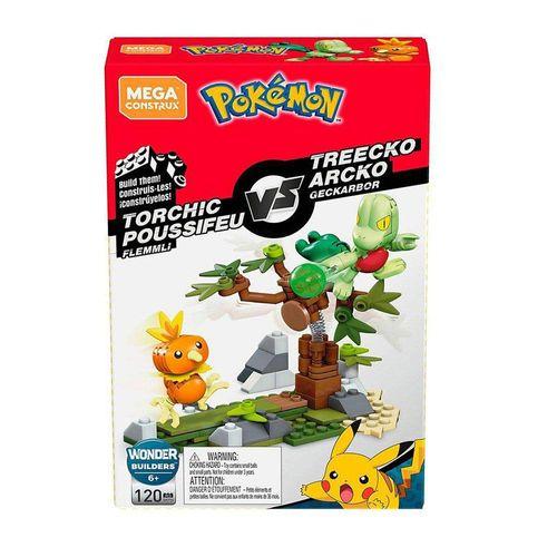 DYF09_Blocos_Mega_Construx_Pokemon_Batalha_Torchic_Poussifeu_vs_Treecko_Arcko_120_Pecas_Mattel_2