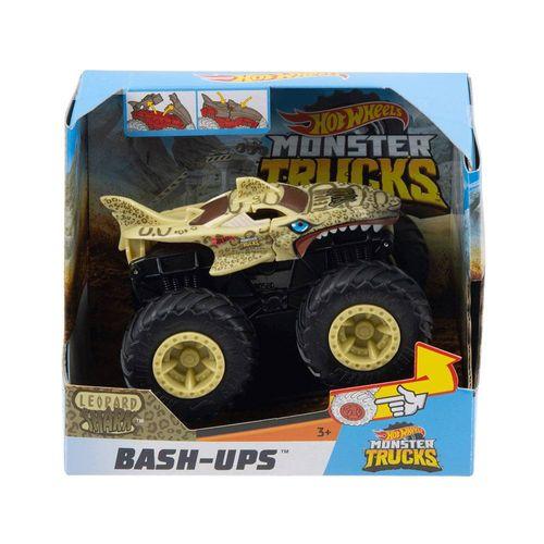 GCF94_GCF98_Carrinho_Hot_Wheels_143_Monster_Trucks_Leopard_Shark_Bash-Ups_Mattel__2