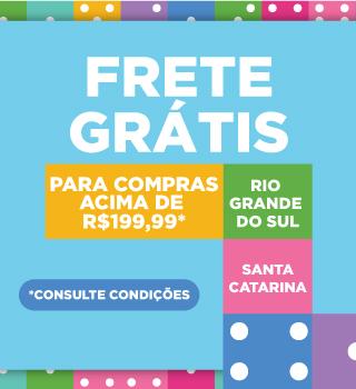 FRETE GRATIS RS E SC