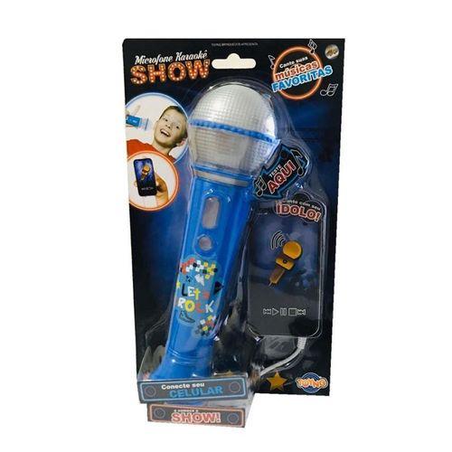 36948_Microfone_Infantil_Musical_Karaoke_Show_Azul_Toyng
