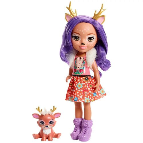 FRH51_FRH54_Boneca_Enchantimals_com_Pet_Danessa_Deer_e_Sprint_25_cm_Mattel_1