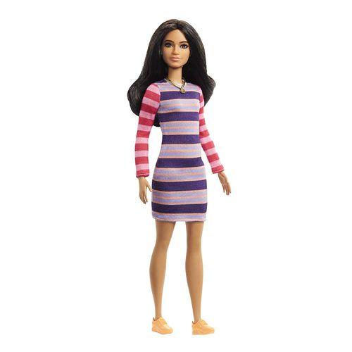 FBR37_Boneca_Barbie_Fashionistas_Vestido_Listrado_147_Mattel_1