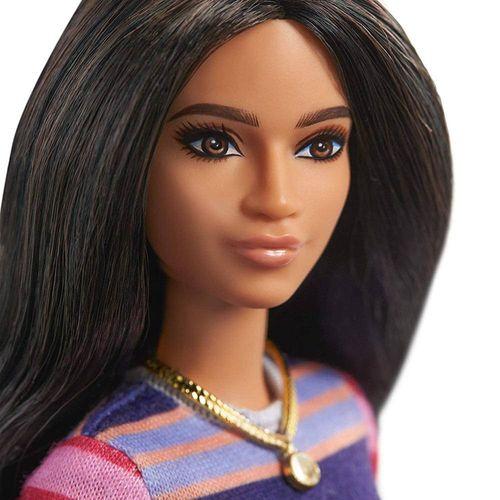 FBR37_Boneca_Barbie_Fashionistas_Vestido_Listrado_147_Mattel_4