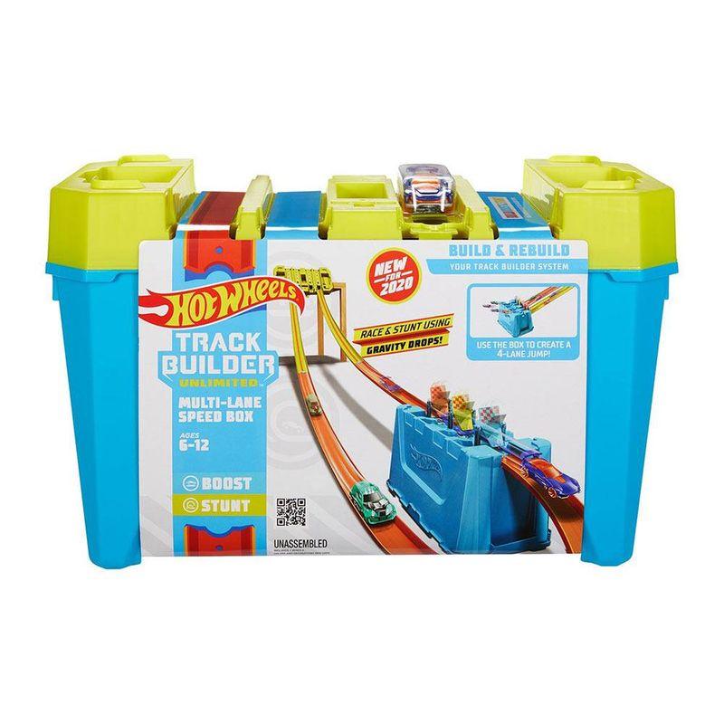 FLK89_GLC95_Pista_de_Carrinhos_Hot_Wheels_Caixa_de_Velocidade_de_Pistas_Multiplas_Track_Builder_Mattel_1