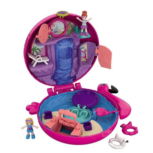 FRY35_FRY38_Polly_Pocket_Mini_Mundo_de_Aventura_Flamingo_Surpresa_Mattel_1