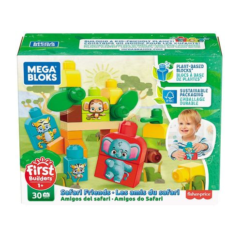 GPT75_Blocos_de_Montar_Mega_Bloks_Amigos_do_Safari_30_Pecas_Fisher-Price_1