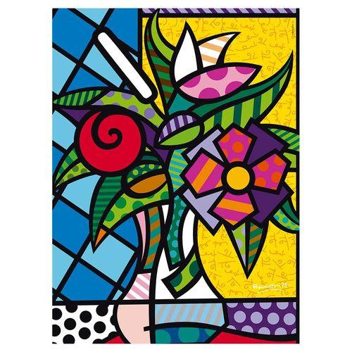 3946_Quebra-Cabeca_Romero_Britto_Flower_500_Pecas_Grow_3