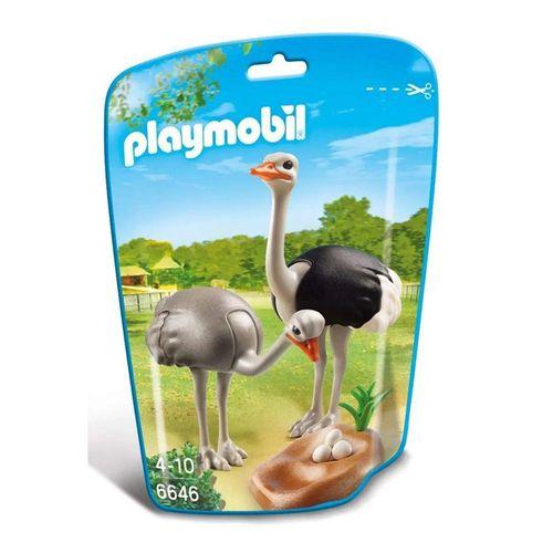 1186_Playmobil_Animais_do_Zoo_Familia_Avestruz_6646_Sunny_1
