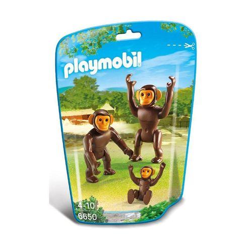 1186_Playmobil_Animais_do_Zoo_Familia_Chimpanze_6650_Sunny_1