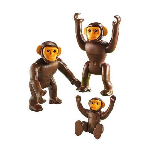 1186_Playmobil_Animais_do_Zoo_Familia_Chimpanze_6650_Sunny_2