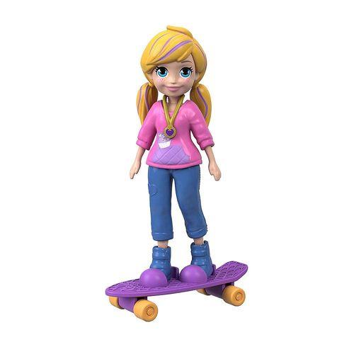 FTP67_FTP68_Mini_Boneca_Polly_Pocket_Polly_Skatista_Mattel_2