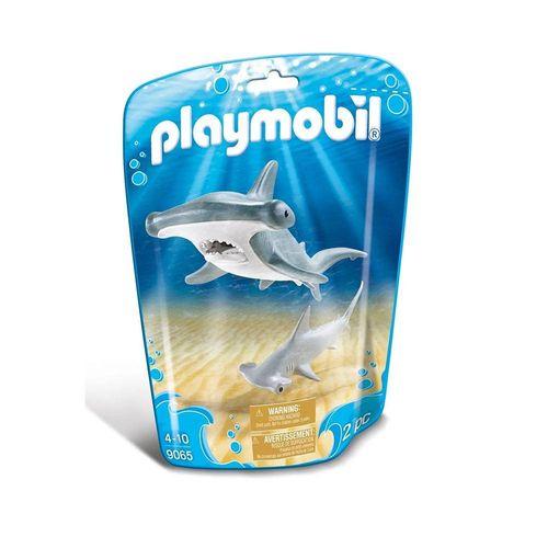 1725_Playmobil_Animais_Marinhos_Tubarao_Martelo_e_Filhote_9065_Sunny_1