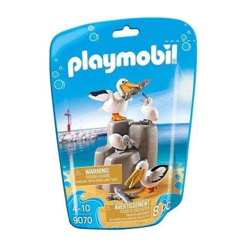 1726_Playmobil_Animais_Marinhos_Familia_Pelicano_9070_Sunny_1