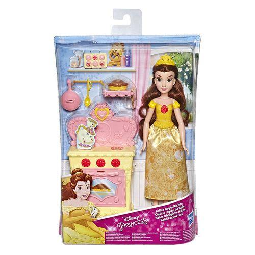 E2912_E3154_Playset_com_Boneca_Disney_Princesas_Cozinha_Real_a_Bela_Hasbro_4