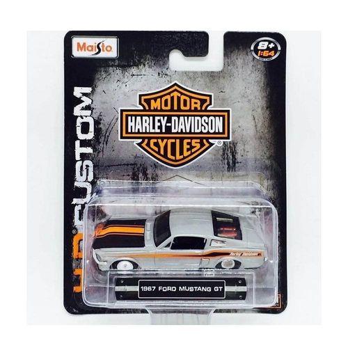 20-15380_Miniatura_Colecionavel_1967_Ford_Mustang_GT_164_Harley_Davidson_Maisto_2