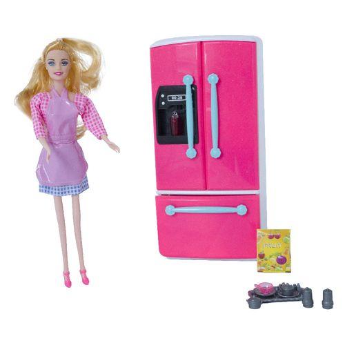 172512_Playset_com_Boneca_Mini_Kitchen_Geladeira_Yes_Toys_2