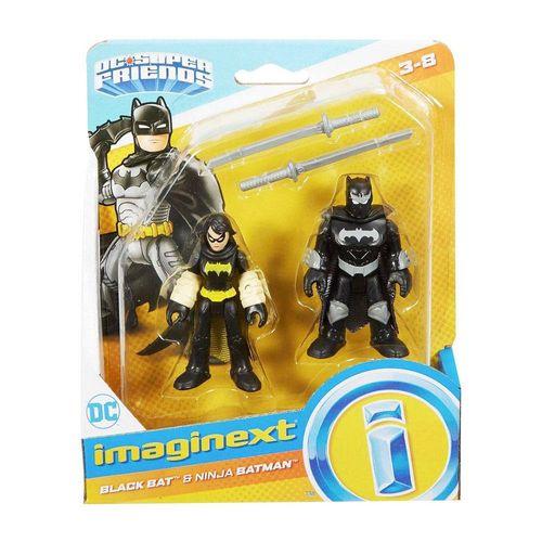 M5645_FTV07_Mini_Figura_Black_Bat_e_Batman_Ninja_DC_Super_Friends_Imaginext_Fisher-Price_1