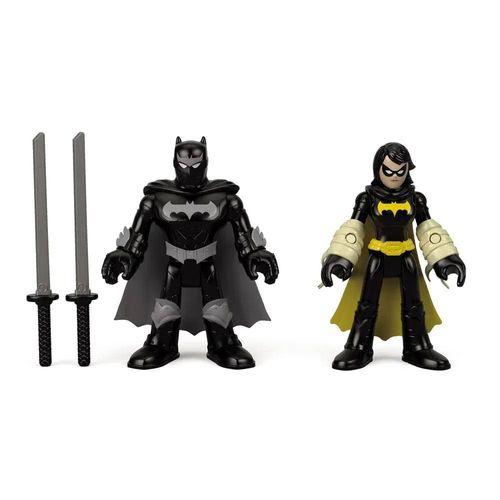 M5645_FTV07_Mini_Figura_Black_Bat_e_Batman_Ninja_DC_Super_Friends_Imaginext_Fisher-Price_2