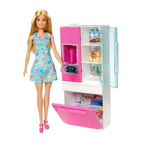 DVX51_GHL84_Boneca_Barbie_Barbie_com_Moveis_e_Acessorios_Geladeira_da_Barbie_Mattel_1