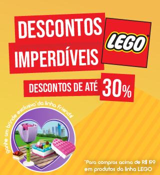 DESCONTO LEGO