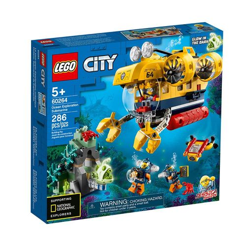 LEGO_City_Submarino_de_Exploracao_do_Oceano_60264_1