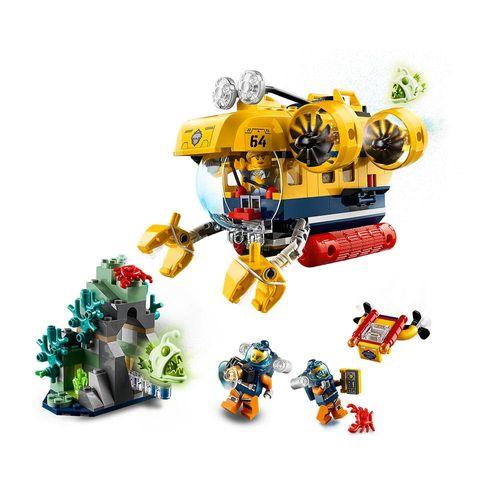 LEGO_City_Submarino_de_Exploracao_do_Oceano_60264_3