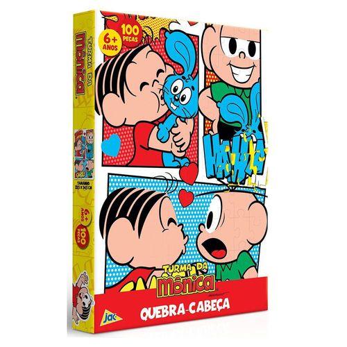 2241_Quebra-Cabeca_Monica_e_Cebolinha_Turma_da_Monica_100_Pecas_Toyster_1