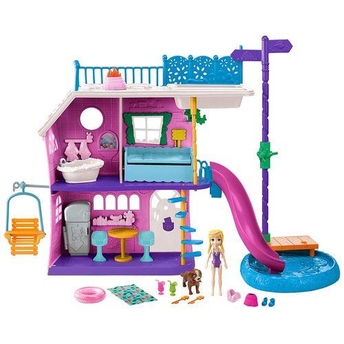 GHY65_Playset_com_Boneca_Polly_Pocket_Casa_do_Lago_da_Polly_Mattel_1