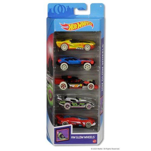806-GHP65_Carrinhos_Hot_Wheels_Pacote_com_5_Carros_HW_Glow_Wheels_Mattel