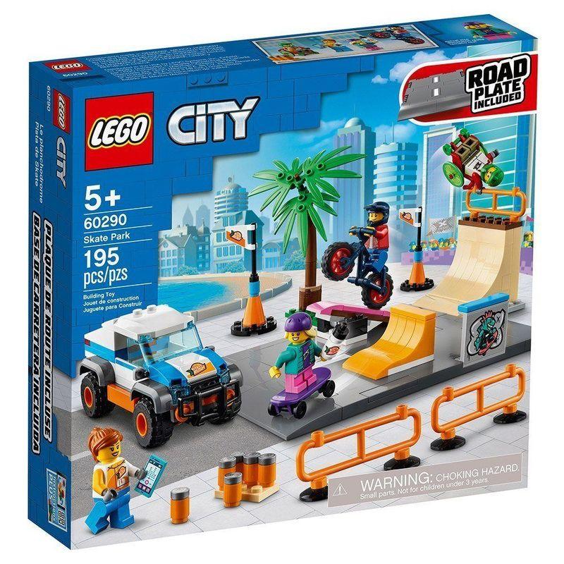 LEGO_City_Parque_de_Skate_60290_1