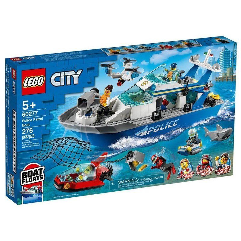LEGO_City_Barco_da_Patrulha_da_Policia_60277_1