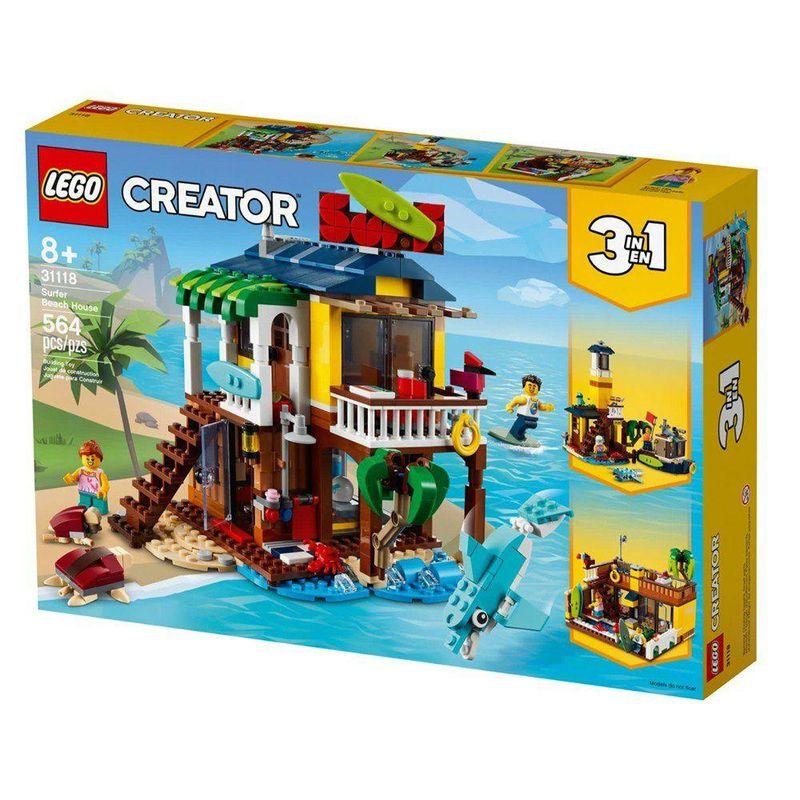 LEGO_Creator_Casa_da_Praia_de_Surfista_31118_1