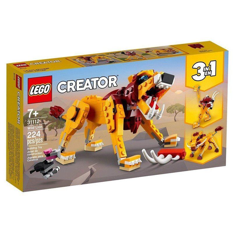 LEGO_Creator_Leao_Selvagem_31112_1