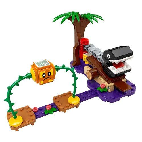 LEGO_Super_Mario_Pacote_de_Expansao_Confronto_na_Selva_com_Chomp_Chomp_71381_2