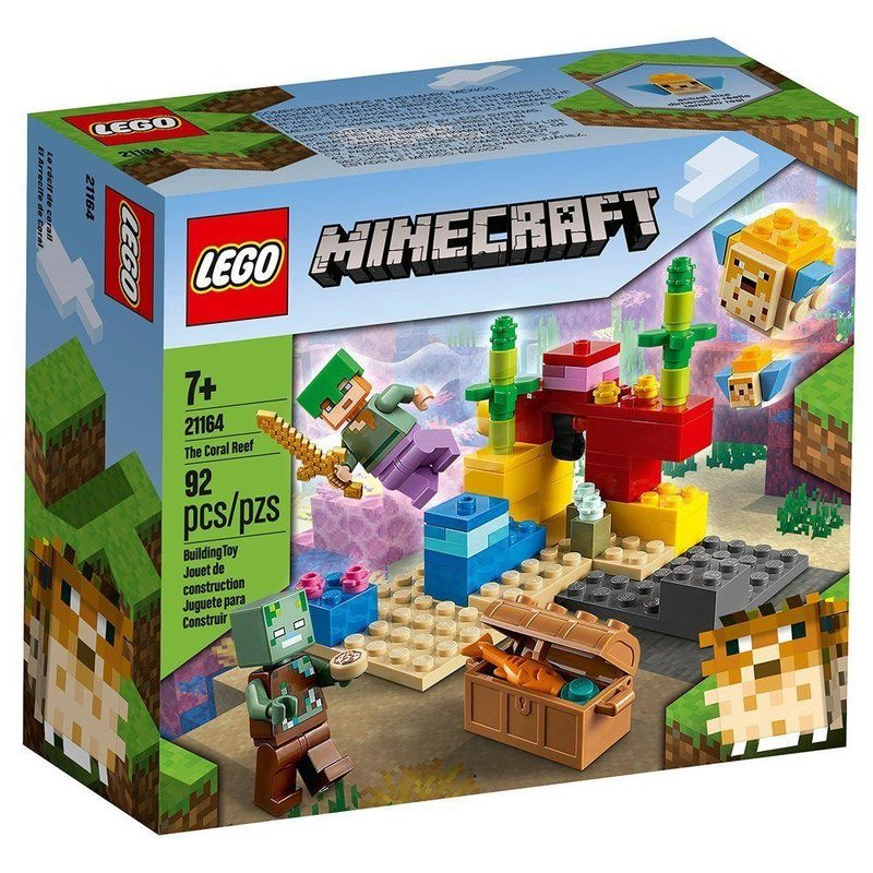 LEGO_Minecraft_O_Recife_de_Coral_21164_1