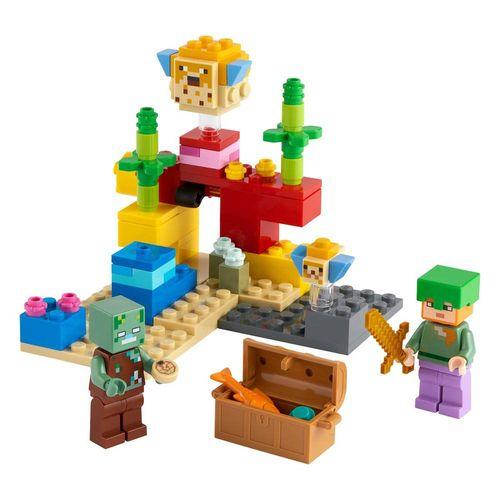 LEGO_Minecraft_O_Recife_de_Coral_21164_2