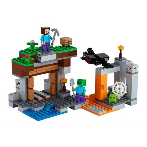 LEGO_Minecraft_A_Mina_Abandonada_21166_2