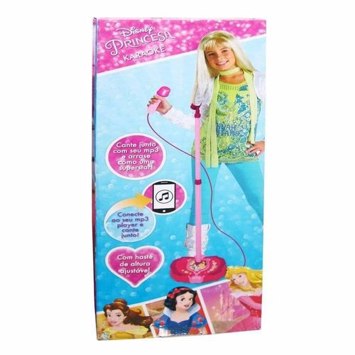 27928_Microfone_Karaoke_Infantil_Princesas_Disney_Toyng