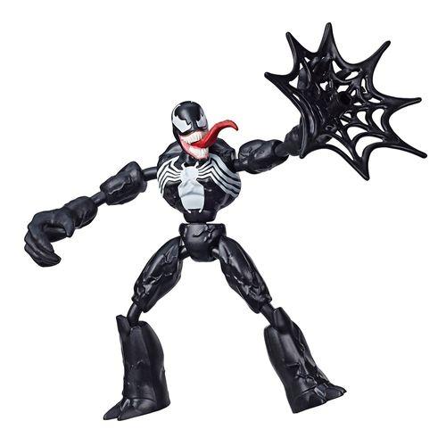E7689_Figura_Articulada_Venom_15_cm_Bend_and_Flex_Marvel_Hasbro_1