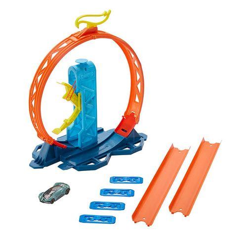 GLC87_GLC90_Pista_de_Carrinhos_Hot_Wheels_Conjunto_de_Loop_Mattel_5