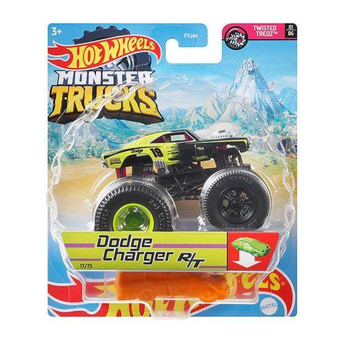 FYJ44_GWJ98_Carrinho_Hot_Wheels_Monster_Truck_Dodge_Charger_RT_Mattel