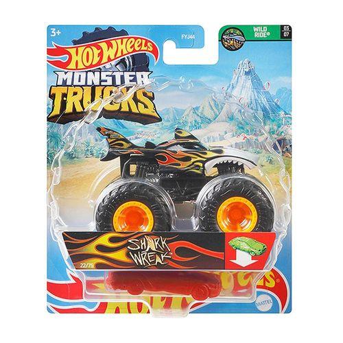 FYJ44_GWK12_Carrinho_Hot_Wheels_Monster_Truck_Shark_Wreak_Mattel