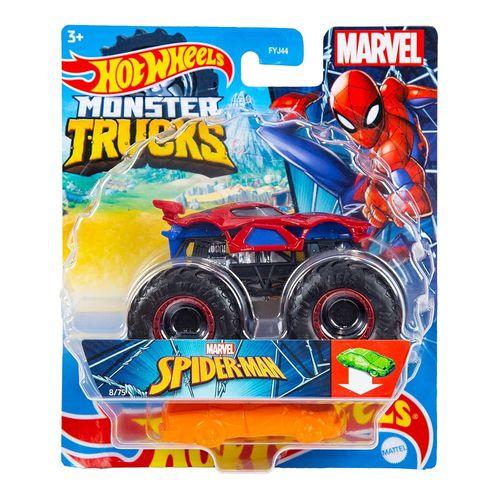 FYJ44_GWK23_Carrinho_Hot_Wheels_Monster_Truck_Marvel_Homem-Aranha_Mattel