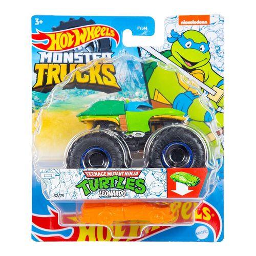 FYJ44_GWK20_Carrinho_Hot_Wheels_Monster_Truck_Tartarugas_Ninjas_Leonardo_Mattel