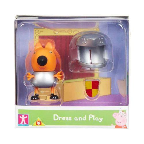 2319_Mini_Figura_Peppa_Pig_com_Roupinhas_Freddy_Raposo_com_Roupa_de_Guerreiro_Sunny_1