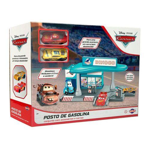 40842_Playset_com_Carrinhos_Posto_de_Gasolina_Carros_Pixar_Toyng_3