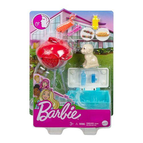 GRG75_GRG76_Acessorios_para_Boneca_Barbie_com_Pet_Churrasco_Mattel_1