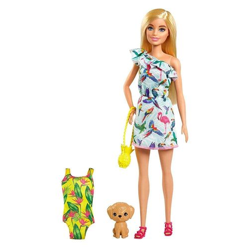 GRT86_GRT87_Boneca_Barbie_com_Pet_Barbie_The_Lost_Birthday_Mattel_1