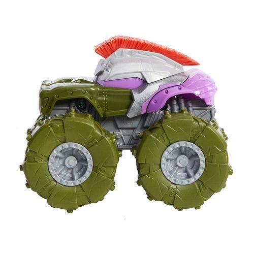 GVK37_GVK42_Carrinho_Hot_Wheels_143_Monster_Trucks_Twisted_Tredz_Hulk_Gladiador_Marvel_Mattel_1